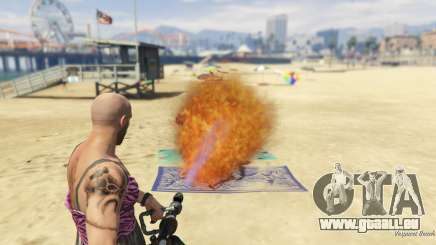 Real Flamethrower 1.5 für GTA 5