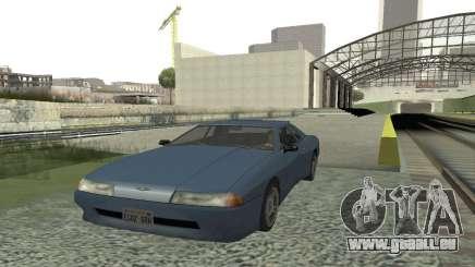 Standard-Elegie, mit einem versenkbaren spoiler für GTA San Andreas