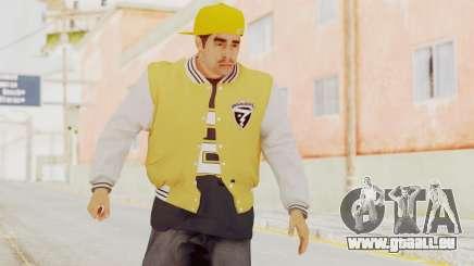 GTA 5 Los Santos Vagos Member 2 pour GTA San Andreas