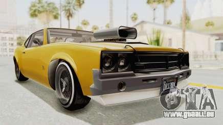 GTA 5 Declasse Sabre GT2 B IVF pour GTA San Andreas