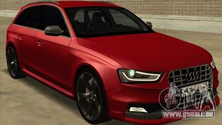 Audi S4 Avant für GTA San Andreas