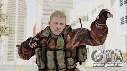 Battery Online Russian Soldier 10 v3 pour GTA San Andreas