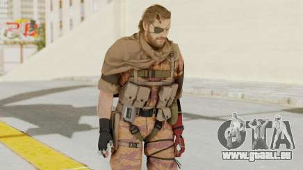 MGSV The Phantom Pain Venom Snake Scarf v5 pour GTA San Andreas
