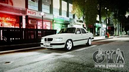 GAZ 3110 Turbo WRX STI pour GTA 4
