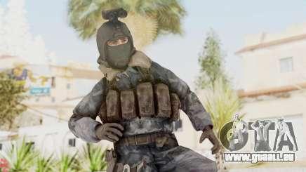 COD 4 Custom Russian Soldier pour GTA San Andreas