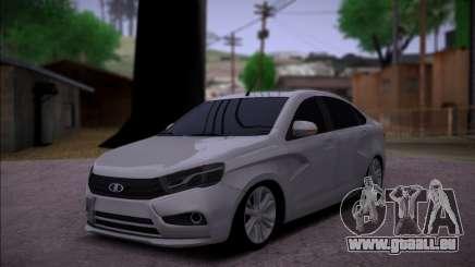Lada Vesta Stock pour GTA San Andreas