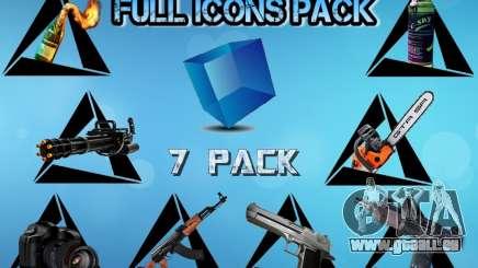 Full Icons Pack für GTA San Andreas