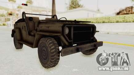 MGSV Jeep No LMG pour GTA San Andreas