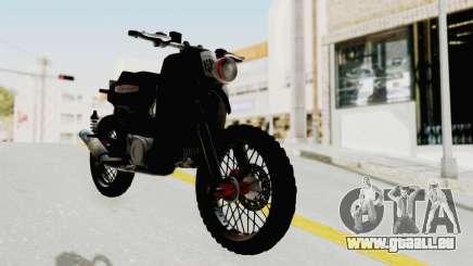 Honda Super Cub Modif Moge pour GTA San Andreas