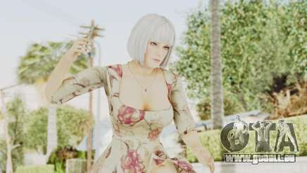 Dead Or Alive 5 LR - Christie Casual New Hair pour GTA San Andreas