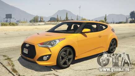 Hyundai Veloster [Replace] 1.2 pour GTA 5