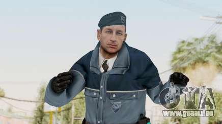 Bourne Conspirancy Zurich Police v1 pour GTA San Andreas