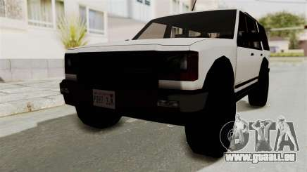Dundreary Landstalker 1992 pour GTA San Andreas