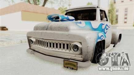 GTA 5 Slamvan Lowrider PJ1 für GTA San Andreas