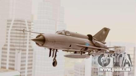 MIG-21 BIS Air Force Argentinien für GTA San Andreas