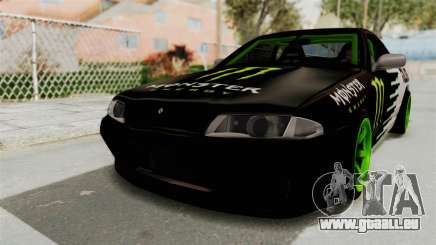 Nissan Skyline R32 Drift Monster Energy Falken für GTA San Andreas