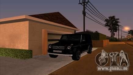 Mercedes G55 Kompressor pour GTA San Andreas