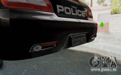 ASYM Desanne XT Pursuit v2 für GTA San Andreas Unteransicht