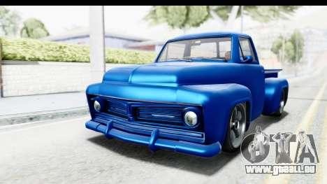 GTA 5 Vapid Slamvan Custom für GTA San Andreas