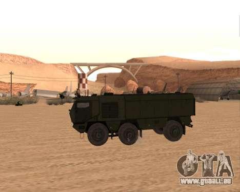 KAMAZ 63968 Typhon pour GTA San Andreas laissé vue