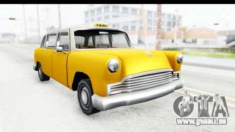 Cabbie London für GTA San Andreas