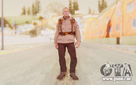 COD BO Russian Soldier v2 für GTA San Andreas zweiten Screenshot