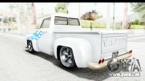 GTA 5 Vapid Slamvan Custom pour GTA San Andreas moteur