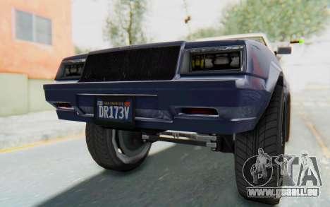 GTA 5 Willard Faction Custom Donk v3 IVF für GTA San Andreas Unteransicht