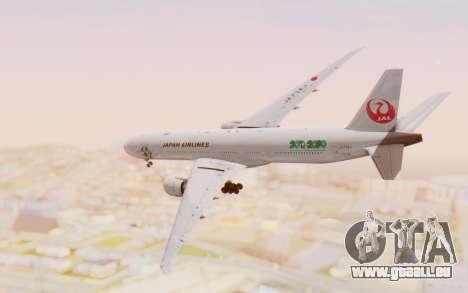 Boeing 777-300ER Japan Airlines v1 für GTA San Andreas rechten Ansicht