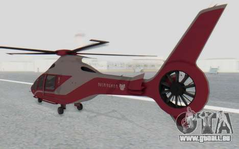 GTA 5 Buckingham Volatus v2 für GTA San Andreas linke Ansicht