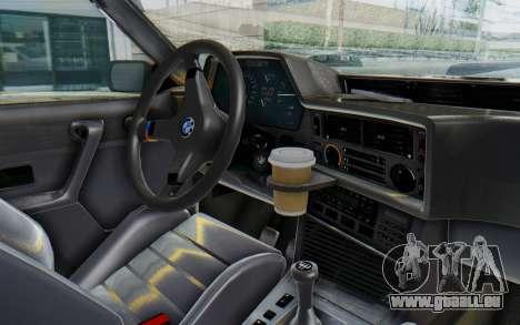 BMW M635 CSi (E24) 1984 IVF PJ2 pour GTA San Andreas vue arrière