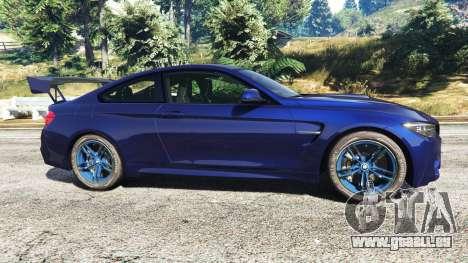 GTA 5 BMW M4 2015 v0.01 linke Seitenansicht