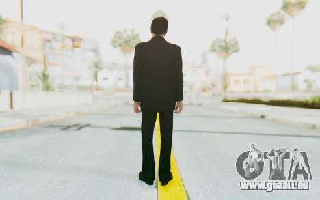 Mafia 2 - Vito Scaletta Madman Suit Black für GTA San Andreas dritten Screenshot
