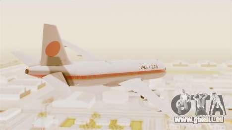 Airbus A320-200 Japanese Air Force One für GTA San Andreas linke Ansicht