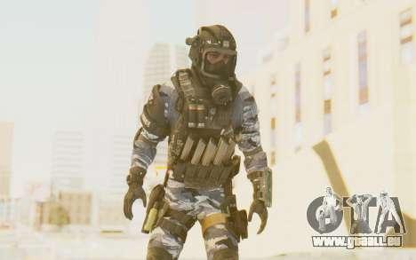 Federation Elite SMG Urban-Navy für GTA San Andreas