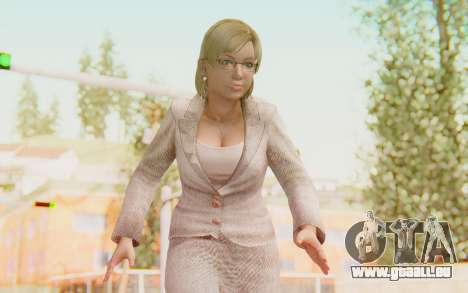 Dead Rising - Jessica McCartney für GTA San Andreas