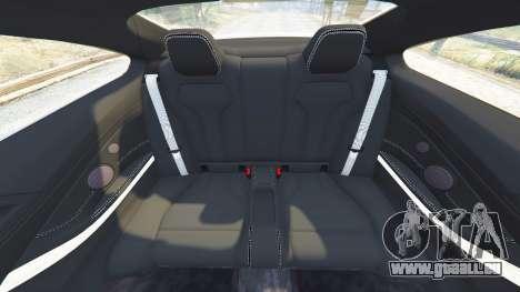 GTA 5 BMW M4 2015 v0.01 Lenkrad