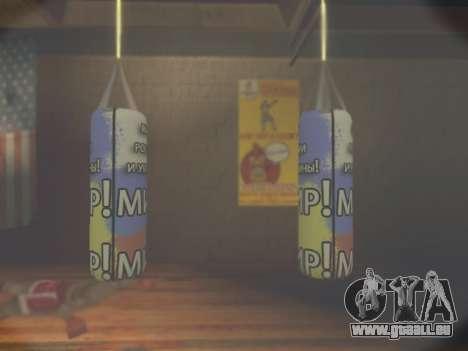 Birne mit Inschrift Welt von Russland und der Uk für GTA San Andreas dritten Screenshot