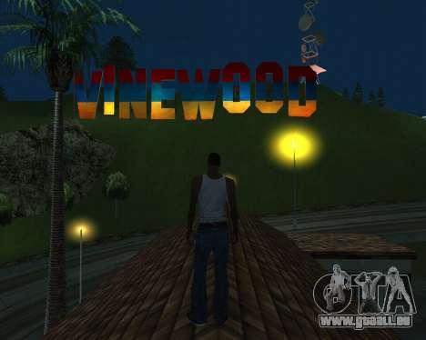 New Vinewood Armenia für GTA San Andreas