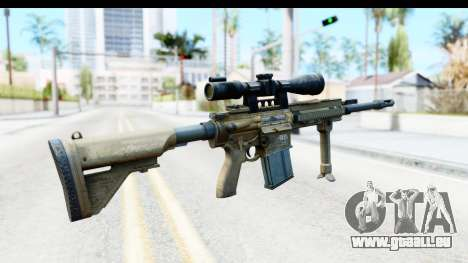 CoD Ghosts - G-28 Desert Camo für GTA San Andreas zweiten Screenshot