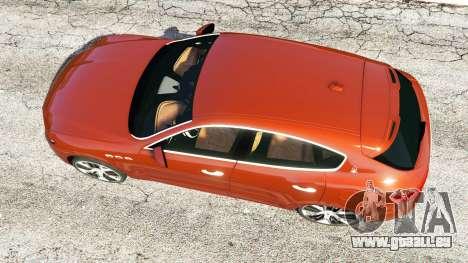 GTA 5 Maserati Levante 2017 Rückansicht