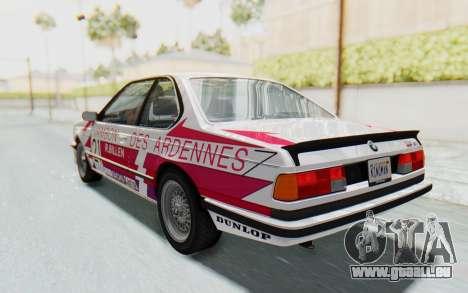 BMW M635 CSi (E24) 1984 IVF PJ2 für GTA San Andreas