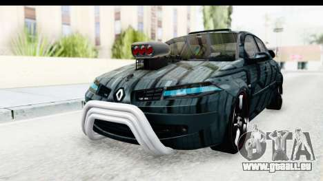 Renault Megane Sport pour GTA San Andreas vue de droite