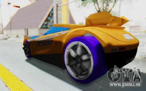 Hot Wheels AcceleRacers 4 für GTA San Andreas linke Ansicht