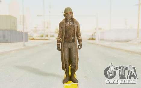 Fallout 4 - Veteran Ranger pour GTA San Andreas deuxième écran