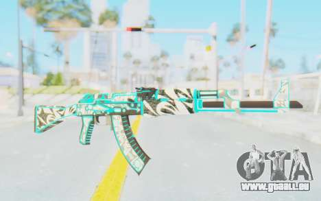 CS:GO - AK-47 Front Side Misty pour GTA San Andreas