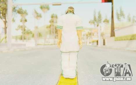 Def Jam Fight For New York - Sean Paul v1 pour GTA San Andreas troisième écran