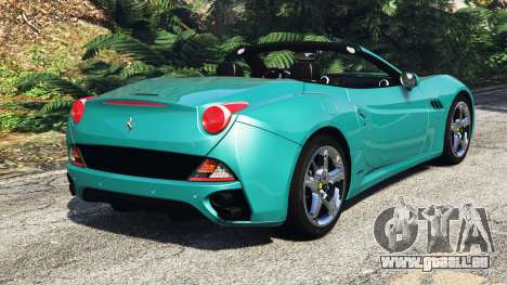Ferrari California Autovista [add-on] pour GTA 5