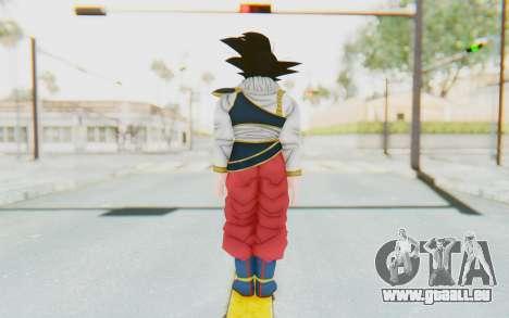 Dragon Ball Xenoverse Goku Yardrat Clothes für GTA San Andreas dritten Screenshot
