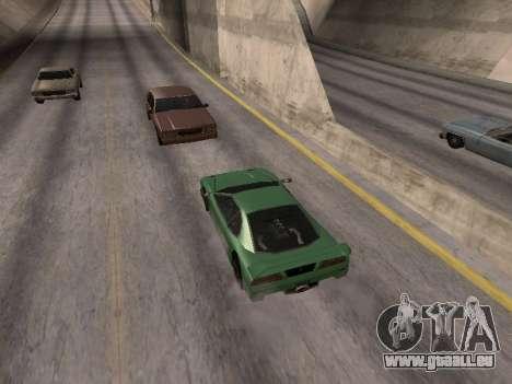 D'avance pour GTA San Andreas deuxième écran